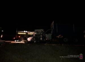 В тройном ДТП с КамАЗом и MAN под Камышином погиб 59-летний водитель Volkswagen