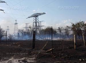 Пожар на западе Волгограда локализован