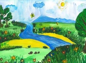 Конкурс экологического рисунка проводит в Котельниково компания «ЕвроХим-ВолгаКалий»