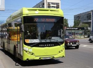 Автобус №77 в Волгограде начнет ходить по новому расписанию с понедельника