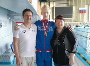 Слепой пловец из Волгограда выиграл чемпионат России и стал мастером спорта международного класса