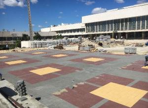 На 80% восстановлен «естественный блеск и орнамент» волгоградского ДЮЦа