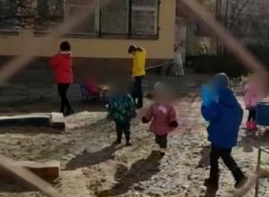 Волгоградка заявила о нецензурной брани и непедагогичных методах наказания воспитанников детского сада