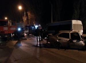 Торопившийся домой водитель разбился на юге Волгограда