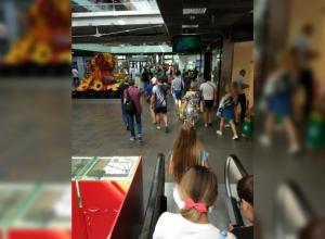 Посетителей Ворошиловского торгового центра экстренно эвакуировали в Волгограде
