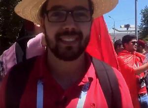 Матч со сборной Англии обещает быть сложным, - тунисский болельщик о предстоящем матче в Волгограде