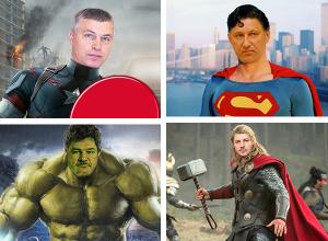 Волгоградские силовики «превратились» в известных супергероев