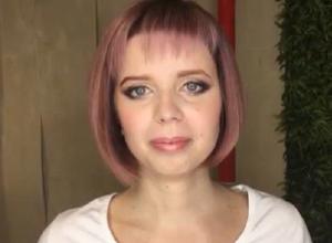 Кристина Королева покрасилась в фиолетовый перед финалом проекта «Сбросить лишнее»