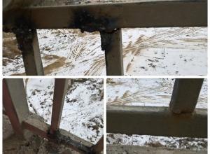 Перила отвалятся через месяц, - волгоградцы о ремонте Астраханского моста