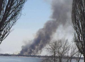 Пожарные подожгли Краснослободск: клубы дыма напугали волгоградцев