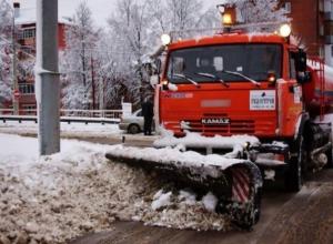 Дороги Волгограда «удобрили» 1000 тоннами песка и соли