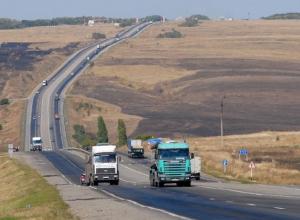 На лето федеральные дороги в Волгоградской области избавили от фур