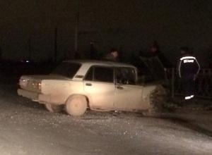 Пьяные водители начали проверять на прочность новое ограждение на шоссе Авиаторов в Волгограде