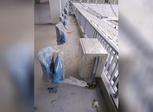 VIP место с персональным «столиком под пиво» обнаружили на трибуне «Волгоград Арены»