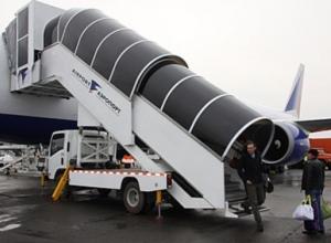 Волгоградский аэропорт потратит 11 млн рублей на два телетрапа для самолетов