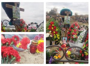 40 дней с дня зверского убийства 5-летней Сони в Калаче: люди несут цветы и свечи на могилу малышки