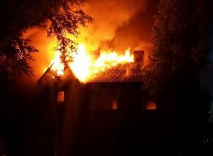 Житель Волгограда сгорел заживо в ночном пожаре