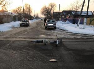 55-летний водитель «Калины» сбил велосипедиста в Волгоградской области
