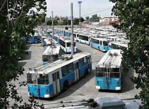 «Обитель» обреченных на распил троллейбусов сняли на фото в Волгограде