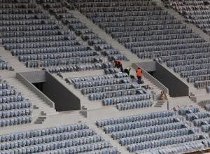 18 тысяч зрительских кресел появились на стадионе «Волгоград Арена»