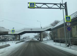 Полицейские просят водителей быть предельно внимательными во время метели в Волгограде