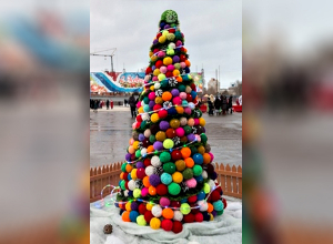 Самую креативную елку Волгограда выберут уже завтра