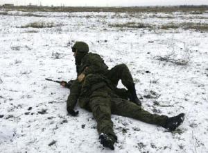 Военные эвакуировали раненых с полигона Прудбой под Волгоградом