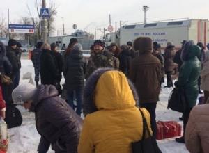 Жители Волгограда экстренно покинули здание автовокзала
