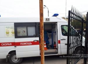 Волгоградка получила травмы в карете скорой помощи возле больницы №25