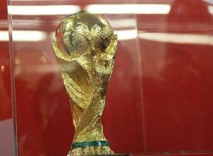 Кубок чемпионата мира по футболу самолетом доставили в Волгоград