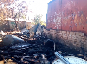 Последствия взрыва в Советском районе Волгограда попали на видео