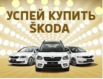 Успейте купить ŠKODA с выгодой до 260000 рублей!