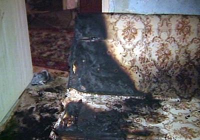 В Волгоградской области курильщик отравился угарным газом на пожаре