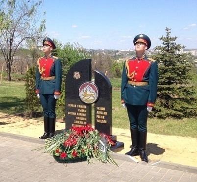 НаМамаевом кургане открыли стелу впамять опогибших вСталинграде осетинах