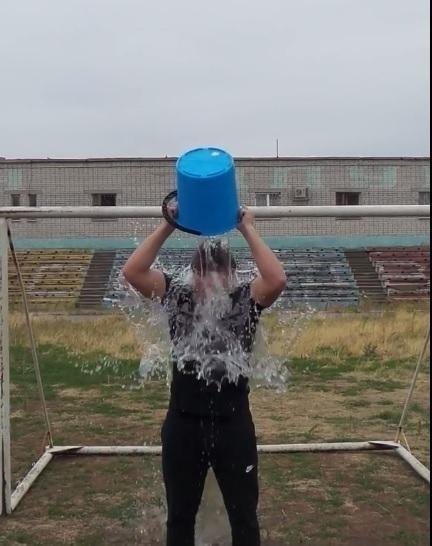 В Волгограде ледяной водой облился призер Чемпионата Мира Давид Кочишвили