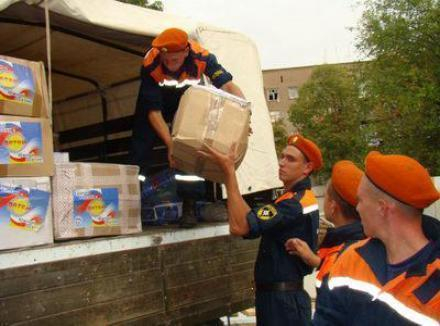 Волгоградская область отправила в Крымск более 155 тонн гуманитарного груза