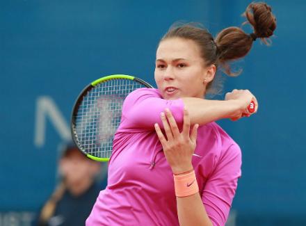 Волгоградская теннисистка сдает позиции