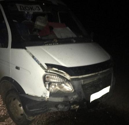 61-летний водитель на «Москвиче» протаранил «ГАЗель» в Волгограде