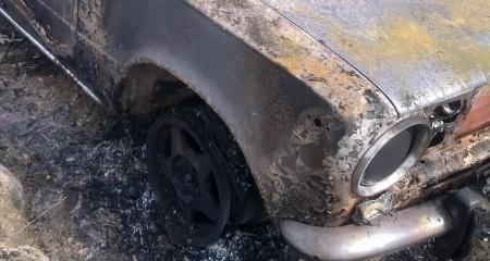 29-летняя «копейка» сгорела в Волгоградской области