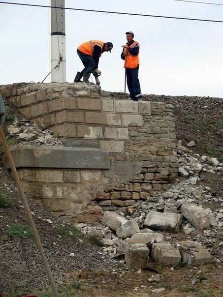 В Волгограде проводят демонтаж Царицынского виадука