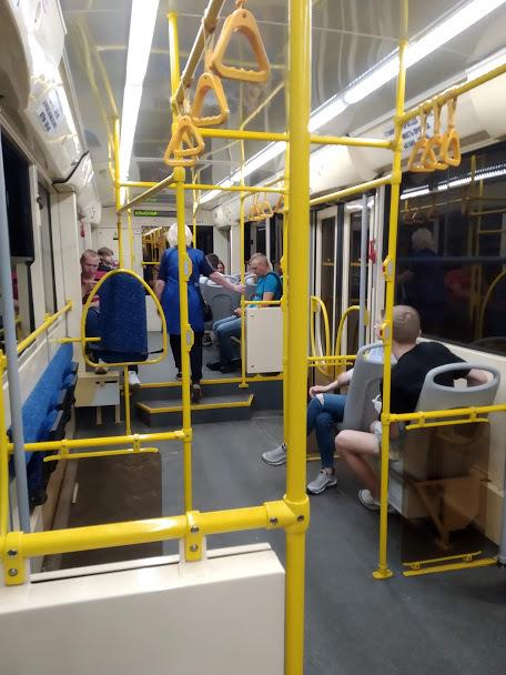 Задымление на «Пионерской» не повлияло на работу скоростного трамвая