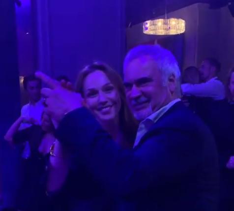 Альбина Джанабаева устроила романтические танцы с Валерием Меладзе