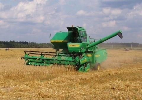 В Волгоградской области собран первый миллион тонн зерна