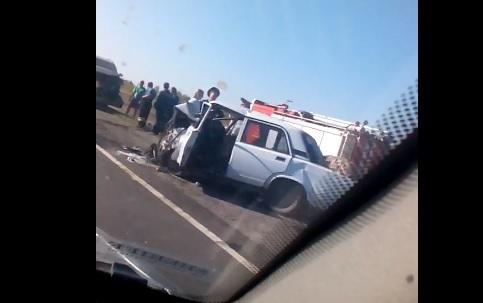 Три человека погибли в лобовом ДТП на трассе Волгоград-Москва