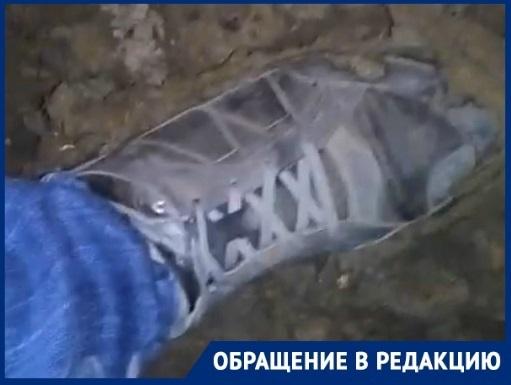 Ноу-хау от волгоградца: бахилы в борьбе с жуткой грязью на дорогах