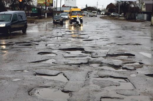 Волгоградские дороги могут остаться без ремонта в 2014 году