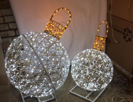 Волгоград украсят световыми фигурами за два миллиона