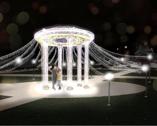 Светящаяся ротонда появится в сквере возле «Гасителя» в Волгограде
