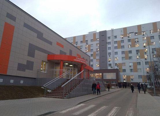 Завершено строительство нового приемного отделения Больничного комплекса Волгограда