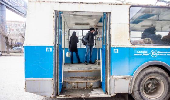 В Волгограде троллейбус №18 заменят двумя автобусами
